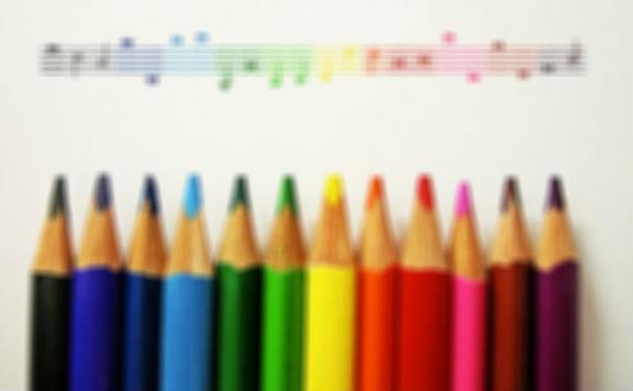 absolute perfect pitch orecchio assoluto color colori